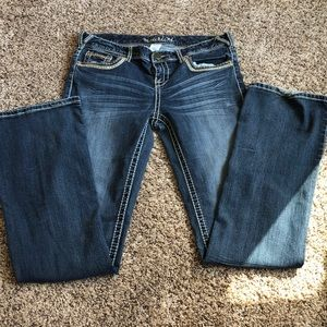 Maurices bootcut jeans size 9/10 long